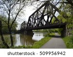 railroad bridge near rochester... | Shutterstock . vector #509956942