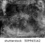 abstract grunge scratched grey... | Shutterstock . vector #509965162