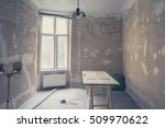 home renovation   old flat... | Shutterstock . vector #509970622