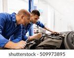 auto service  repair ... | Shutterstock . vector #509973895