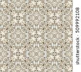 seamless background baroque... | Shutterstock .eps vector #509992108