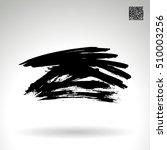 brush stroke and texture.... | Shutterstock .eps vector #510003256