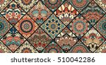 tiles flower background.... | Shutterstock .eps vector #510042286