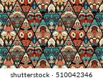 vector tile seamless pattern.... | Shutterstock .eps vector #510042346