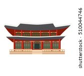 East Asian Building Icon....