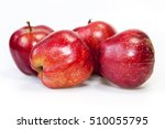 red ripe apples on a table   Shutterstock . vector #510055795