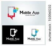 mobile app logo design template ...