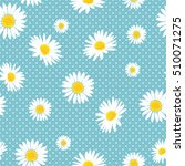 floral seamless pattern with... | Shutterstock .eps vector #510071275