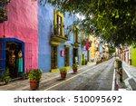 callejon de los sapos   puebla  ...   Shutterstock . vector #510095692