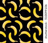 bananas  photographic seamless... | Shutterstock . vector #510099106