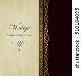 vintage vector background   Shutterstock .eps vector #510104095