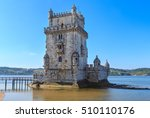 belem tower  or the tower of st ... | Shutterstock . vector #510110176