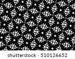 black and white ornament. r  | Shutterstock . vector #510126652
