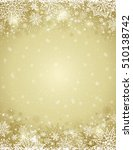 beige christmas background with ... | Shutterstock .eps vector #510138742