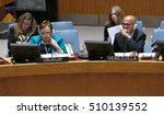 Small photo of New York, United States. 25th August 2016. Security Council 7760 meeting United Nations Interim Administration Mission in Kosovo