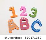 123 and abc | Shutterstock . vector #510171352