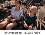 shot of smiling young people... | Shutterstock . vector #510187096