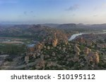 hampi from matanga hill   Shutterstock . vector #510195112