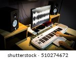 sound engineer  composer... | Shutterstock . vector #510274672