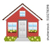 small house icon image  | Shutterstock .eps vector #510278398