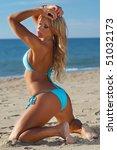 sexy bikini girl | Shutterstock . vector #51032173