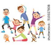 the three generation family who ... | Shutterstock .eps vector #510327838
