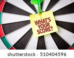 whats your score  | Shutterstock . vector #510404596