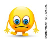 sad emoji | Shutterstock .eps vector #510426826