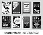 collection of sale banners ... | Shutterstock .eps vector #510430762