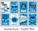 collection of sale banners ... | Shutterstock .eps vector #510437782