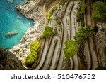 via krupp on capri island  italy | Shutterstock . vector #510476752