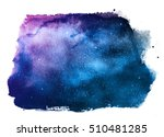 night sky with stars isolated... | Shutterstock . vector #510481285