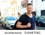 male outdoor street portrait.... | Shutterstock . vector #510487582
