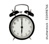 back alarm clock with analog... | Shutterstock . vector #510498766