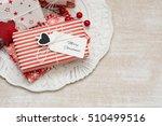 christmas gift   Shutterstock . vector #510499516
