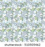 vector seamless pattern. cute... | Shutterstock .eps vector #510505462