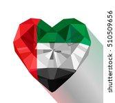 vector crystal gem emirati... | Shutterstock .eps vector #510509656