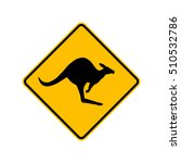kangaroo sign | Shutterstock .eps vector #510532786