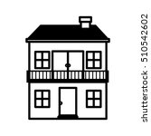 home building icon | Shutterstock .eps vector #510542602
