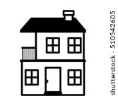 home building icon | Shutterstock .eps vector #510542605
