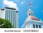 tallahassee capitol buildings... | Shutterstock . vector #510558802