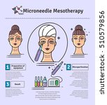 vector illustrated set with... | Shutterstock .eps vector #510579856