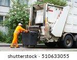 worker of urban municipal...
