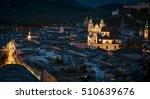 Salzburg Aerial View.twilight...