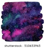 cosmic background. colorful... | Shutterstock . vector #510653965