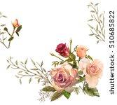 illustration of beautiful... | Shutterstock . vector #510685822