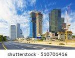 tel aviv cityscape in daylight  ... | Shutterstock . vector #510701416