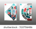 annual report 2017  template... | Shutterstock .eps vector #510706486