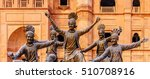 The Bronze Statue Of The...