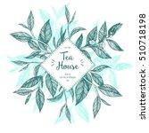 concept tea vector illustration.... | Shutterstock .eps vector #510718198